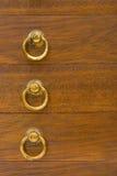 drewniane pudełko pierścieni żółty Zdjęcia Stock