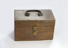 drewniane pudełko Zdjęcie Stock