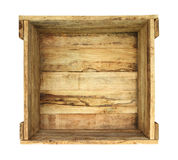 drewniane pudełko Zdjęcia Royalty Free