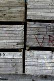 Drewniane skrzynki Zdjęcie Stock
