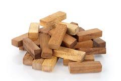 drewnianego 3 bloku Obraz Stock
