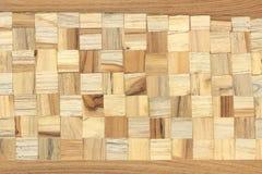 Drewnianego bloku kwadrata tekstura obraz royalty free