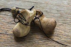 drewnianego butów Obraz Stock