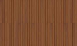 Drewnianego decking bezszwowa tekstura ilustracja wektor