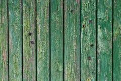 Drewnianego materii stary zielony materia Zdjęcia Stock