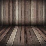 Drewnianego panelu ścienny i podłogowy wewnętrzny tło Obraz Stock