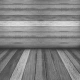 Drewnianego panelu ścienny i podłogowy wewnętrzny tło Fotografia Royalty Free