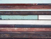 Drewnianego panelu rzemiosła kolorowy tło Zdjęcie Stock