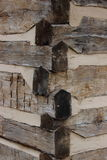Drewnianego promienia złącza Obrazy Royalty Free