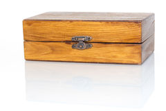 Drewnianego pudełka ang Obraz Royalty Free