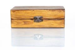 Drewnianego pudełka ref Zdjęcie Stock
