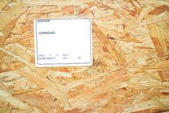 Drewnianego pudełka tła/tekstura Zdjęcia Royalty Free