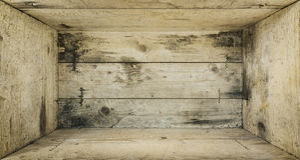 Drewnianego pudełka tło ilustracji