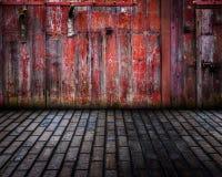 Drewnianego tła Wewnętrzna scena Zdjęcia Royalty Free