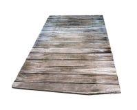 Drewnianego tekstura panelu odosobniony tło Zdjęcia Royalty Free