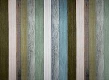 Drewnianej deski chłodno barwiony tło Surowa styl ściana zdjęcie stock
