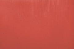 Drewnianej deski malująca czerwień Obraz Royalty Free