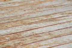 Drewnianej deski podłogowa tekstura, przekątna zdjęcia stock