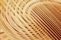 Drewnianej lath ściany tekstury abstrakcjonistyczny use dla tła zdjęcie stock