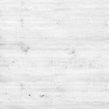 Drewnianej sosnowej deski biała tekstura dla tła Zdjęcia Royalty Free