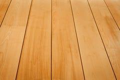 Drewnianej tekstury Perspektywiczny widok Fotografia Stock