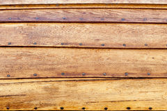 Drewniani łódź szczegóły Obrazy Royalty Free