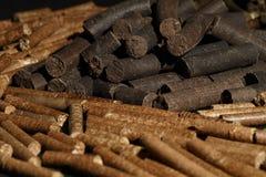 drewniani asortowani wyrka Zdjęcie Royalty Free