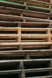 Drewniani barłogi obrazy royalty free