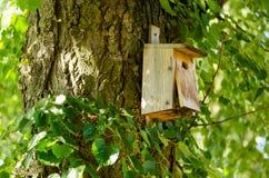 Drewniani birdhouses Obraz Stock