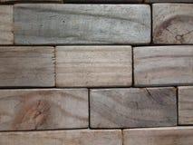 Drewniani bloki Obrazy Royalty Free