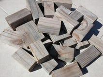 Drewniani bloki Zdjęcie Royalty Free