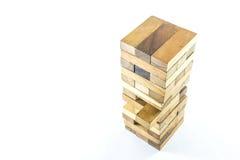 Drewniani bloki gemowi Zdjęcia Royalty Free
