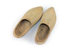 Drewniani buty - chodaki Fotografia Stock