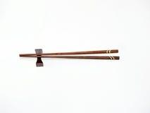 Drewniani chopsticks na barze Obraz Stock