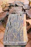 Drewniani domowi furnitures Obraz Royalty Free