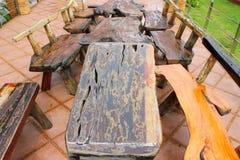 Drewniani domowi furnitures Obraz Stock