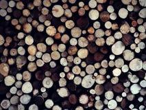 Drewniani drewna na drewna część 2 zdjęcia stock