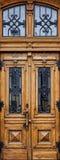 Drewniani drzwi Fotografia Royalty Free