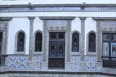 Drewniani drzwi, Casa De Los Azulejos, CDMX fotografia royalty free