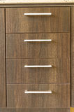 Drewniani kuchenni kreślarzi Obraz Stock