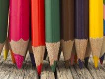 Drewniani ołówki Obraz Royalty Free