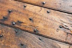 Drewniani panel i deski wiejski dom, Włochy fotografia royalty free
