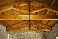 Drewniani promienie Zdjęcia Stock