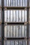 Drewniani pudełka brogujący Obrazy Royalty Free