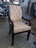 Drewniani ręk krzesła zdjęcia royalty free