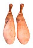 drewniani retro obuwiani blejtramy Fotografia Royalty Free