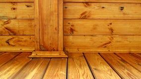 Drewniani słupy i deski Obraz Stock