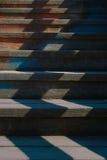 Drewniani schodki Fotografia Stock