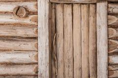 Drewniani stajni drzwi Obraz Royalty Free