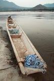 Drewniani statki Zdjęcie Royalty Free